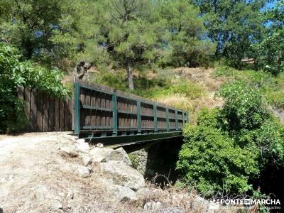 Cascadas de Gavilanes; vacaciones senderismo;senderismo semana santa;actividades de madrid